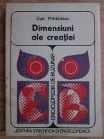 Dan Mihailescu - Dimensiuni ale creatiei