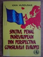 Ioan Hurdubaie - Spatiul penal paneuropean din perspectiva Consiliului Europei