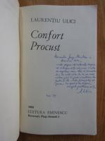 Anticariat: Laurentiu Ulici - Confort Procust ( cu autograful autorului)