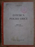Liviu Rusu - Estetica poeziei lirice
