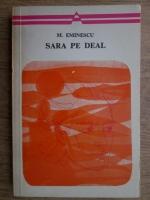 Anticariat: Mihai Eminescu - Sara pe deal. Poezii lirice