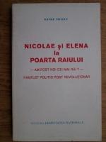 Anticariat: Rangu Traian - Nicolaesi Elena la Poarta Raiului