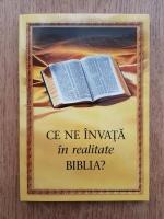 Anticariat: Ce ne invata in realitate Biblia?