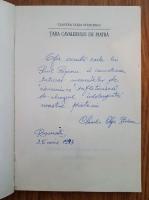 Anticariat: Claudia Cleja Stoicescu - Tara cavalerului de piatra (cu autograful autorului)