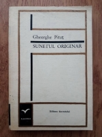 Anticariat: Gheorghe Pitut - Sunetul originar