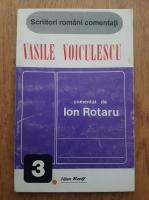 Ion Rotaru - Scriitori romani comentati. Vasile Voiculescu