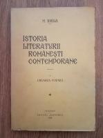 Anticariat: Nicolae Iorga - Istoria literaturii romanesti contemporane (volumul 1, 1934)