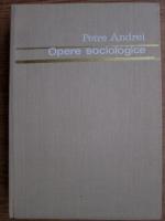 Anticariat: Petre Andrei - Opere sociologice (volumul 1)