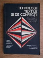 Anticariat: E. Iosif - Tehnologii textile si de confectii