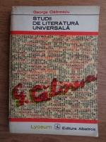 Anticariat: George Calinescu - Studii de literatura universala
