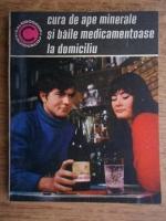 Anticariat: Gheorghe Gheorghe - Cura de ape minerale si baile medicamentoase la domiciliu