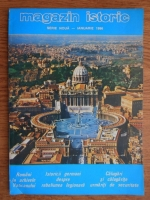 Anticariat: Magazin istoric, anul XXX, nr. 1 (346), ianuarie 1996