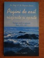 C. D. Popian Linus - Pagini de exil rasfirate si oprite