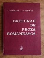 Iustina Itu - Dictionar de proza romaneasca