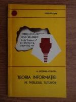 Anticariat: M. Rosenblatt-Roth - Teoria informatiei pe intelesul tuturor