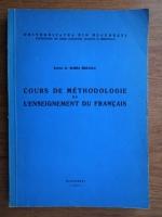 Maria Braescu - Cours de methodologie de l'enseignement du francais