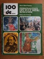 Marin Matei Popescu - 100 de personalitati din evul mediu romanesc