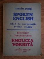 Maxim Popp - Spoken english. Ghid de conversatie roman-englez