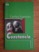 Anticariat: Carlos Fuentes - Constancia