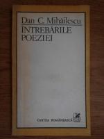 Dan C. Mihailescu - Intrebarile poeziei
