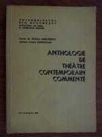 Elena Gorunescu - Anthologie de theatre contemporain commente