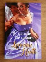 Anticariat: Lorraine Heath - O datorie de onoare
