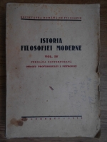 Mihaela Mancas, Ion Zamfirescu - Istoria filosofiei moderne (volumul 4, 1939)