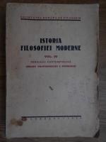 Anticariat: Mihaela Mancas, Ion Zamfirescu - Istoria filosofiei moderne (volumul 4, 1939)