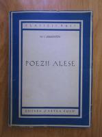 Mihail Lermontov - Poezii alese