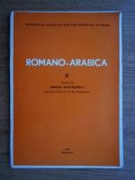 Anticariat: Mircea Anghelescu - Romano-arabica