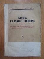Mircea Florian, Liviu Rusu - Istoria filosofiei moderne (volumul 2, 1938)