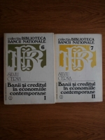 Anticariat: Silviu Cerna - Banii si creditul in economiile contemporane (2 volume)