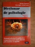 Stefan Popescu - Dictionar de psihologie (volumul 5)