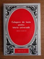 Anticariat: Constantin Enea - Culegere de texte pentru istoria universala. Epoca moderna (volumul 1)