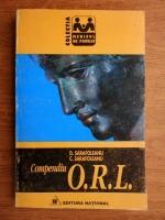Anticariat: Dorin Sarafoleanu - Compendiu O.R.L.