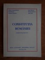 Mihai Constantinescu - Constitutia Romaniei, comentata si adnotata (1992)