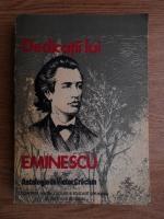 Anticariat: Victor Craciun - Dedicatii lui Eminescu. Antologie