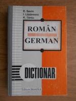 Anticariat: Emilia Savin - Dictionar roman-german