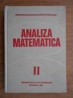 Anticariat: Iliescu Gabriela - Analiza matematica (volumul 2)
