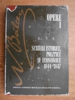 Anticariat: Nicolae Balcescu - Opere (volumul 1)