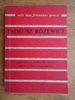 Anticariat: Tadeusz Rozewicz - Poeme