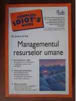 Anticariat: Arthur R. Pell - Managementul resurselor umane
