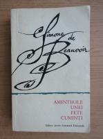 Simone de Beauvoir - Amintirile unei fete cuminti