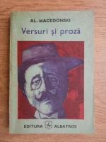 Anticariat: Alexandru Macedonski - Versuri si proza