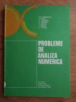 Gheorghe Marinescu - Probleme de analiza numerica