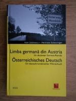 Ioan Lazarescu - Limba germana din Austria. Un dictionar german-roman