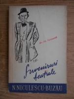 Anticariat: N. Niculescu Buzau - Suveniruri teatrale