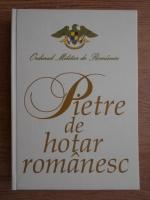 Anticariat: Pietre de hotar romanesc