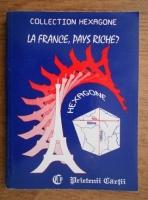 Anticariat: Cristina Stefanescu, Jacques Leaute - La france, pays riche?