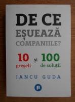 Iancu Guda - De ce esueaza companiile? 10 greseli si 100 de solutii